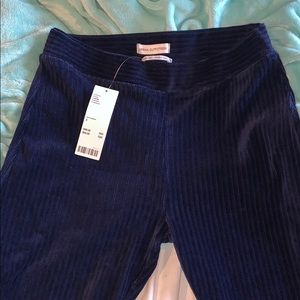 Uo Cassidy Ribbed Velvet Lick Flare Pants
